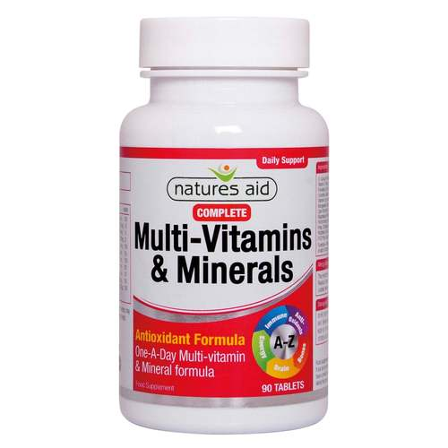 Multivitamin and Minerals Tablets -1