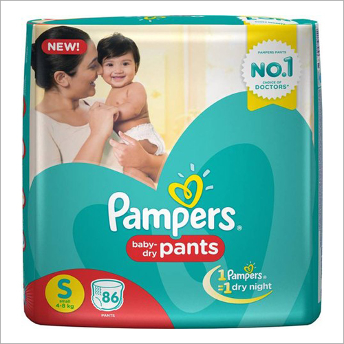 Pampers (Baby Dry Pants) S 86 Pants