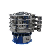 DYS-800-1 Circular Powder Spin Vibrator Sieve for Herbal Sesame Powder Rotatory Vibration Sifter