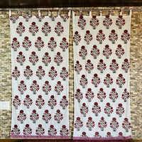 Block Printed Curtains