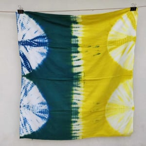 Tie Dye Cotton Printed Fabric