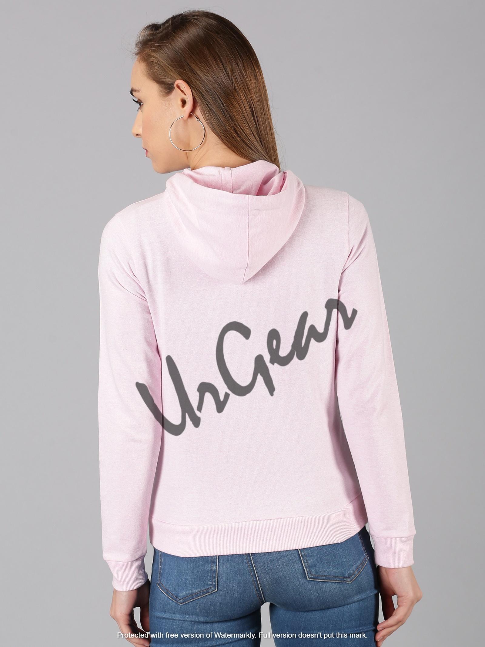 UrGear Full Sleeve Solid Women Sweatshirt