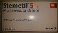 Stemetil Tablets(PROCHLORPERAZINE MALEATE)
