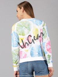 UrGear Full Sleeve Printed Women Sweatshirt