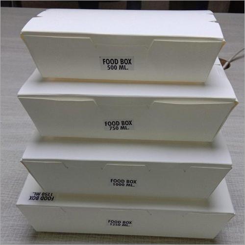 Paper Food Meal Box