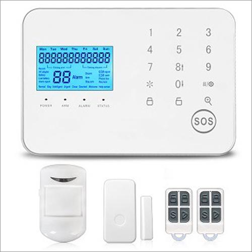 GSM+PSTN Wireless Burglar Security Alarm System