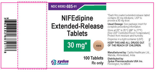 Nifedipine Extended-Release Tablets