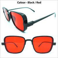 Vigiour 28550 Kabir Singh Black And Red Sunglasses For Mens