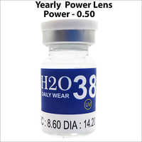 H2O 38 UV Clear Yearly Power Lens
