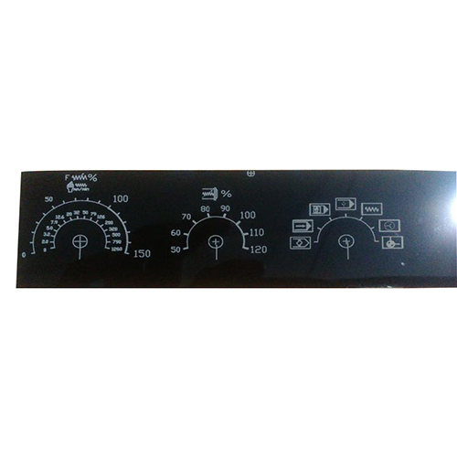 Machine Electric Control Panel Name Plate Laser Marking