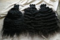 Deep Wavy Temple Hair Extensions