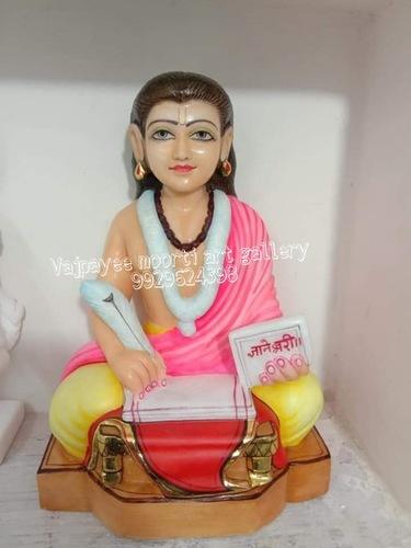 Marble Sant Dayaneshwar Statue