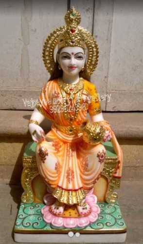 White Marble Annpurna Mata Statue