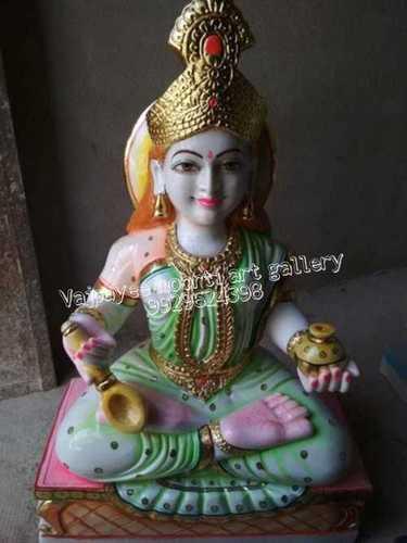 Marble Annpurna Mata Statue
