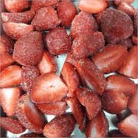 Frozen IQF Strawberry Halves