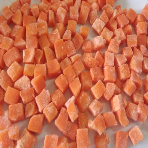 Frozen IQF Carrot Dices