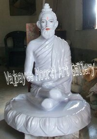 Marble Loknath Baba Moorti