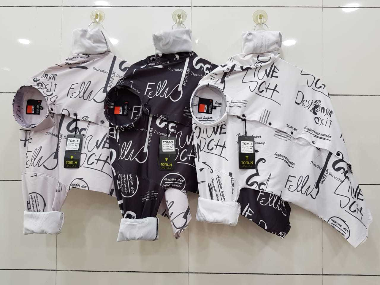 Mens Full Sleeve Designer Print Shirts