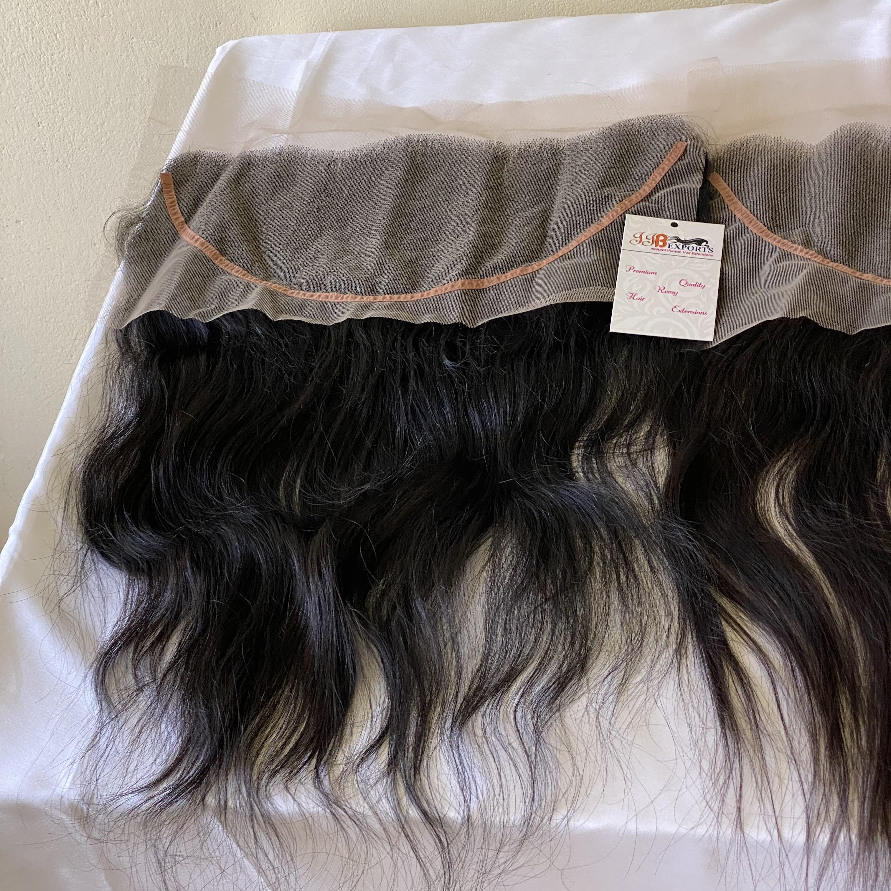 13x4 Raw Unprocessed Cuticle Aligned Virgin Human Hair Brazilian/indian Hd Lace Frontal