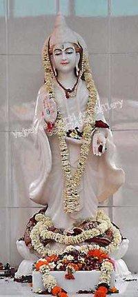 Marble Standing Brahmani Statue
