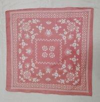 100% Cotton Square Printed Fancy Bandana