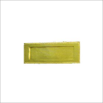 GB 608 Brass Letter Plate Inward Opening