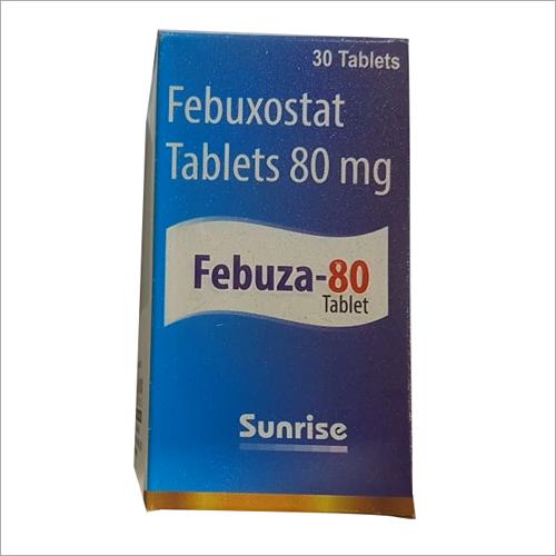 80mg Febuxostat Tablets