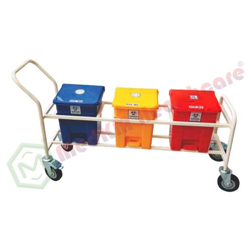 Biomedical Waste Segregation Trolley