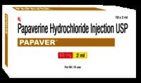 Papaverine Hydrochloride Injection