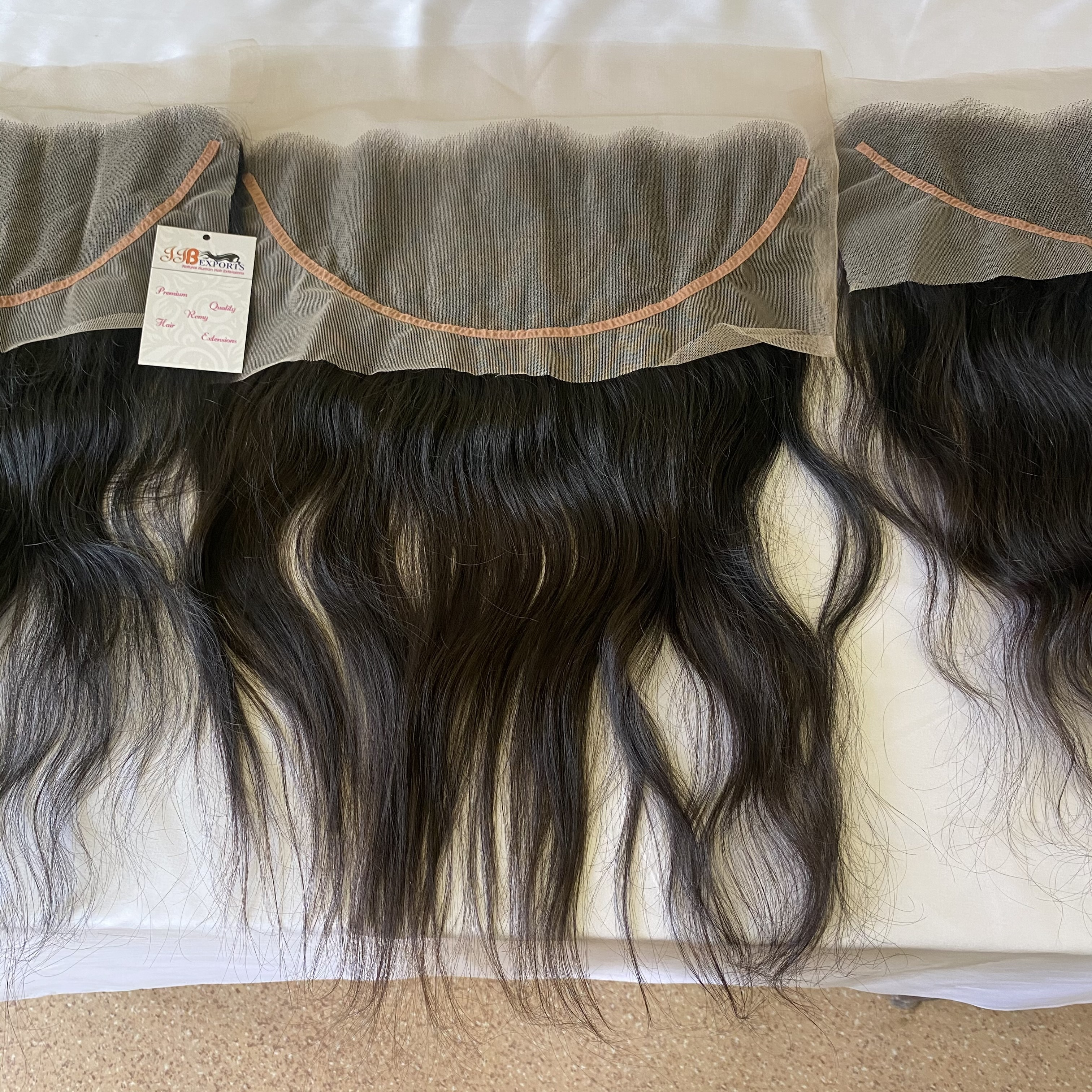 Virgin Cuticle Aligned Indian Raw 100% Natural Cambodian Wholesale Lace Closure Frontal Human Hair Extensions