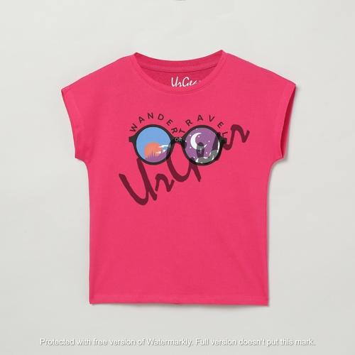 Kids Printed Round Neck T-Shirt
