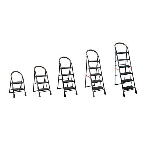 Wide Step Folding Ladder