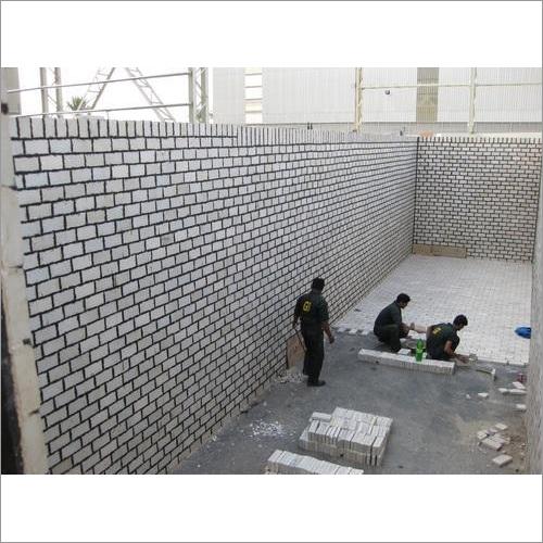 Acid Proof Bricks Lining Work