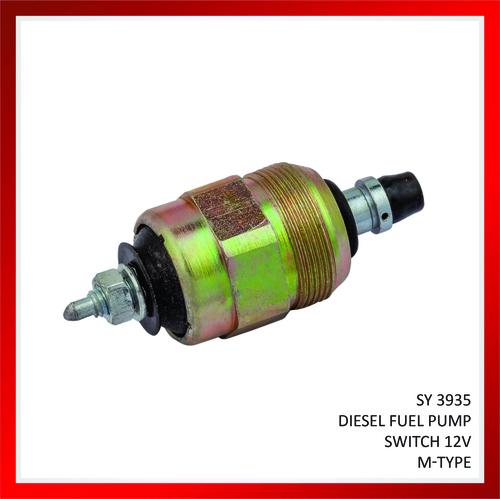 Diesel fuel pump switch