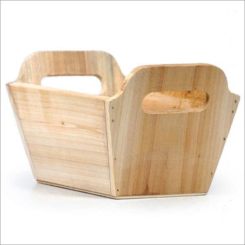 Hardwood Basket
