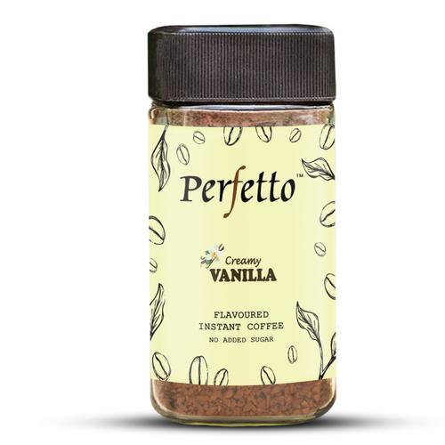 Perfetto Vanilla Flavoured Instant Coffee