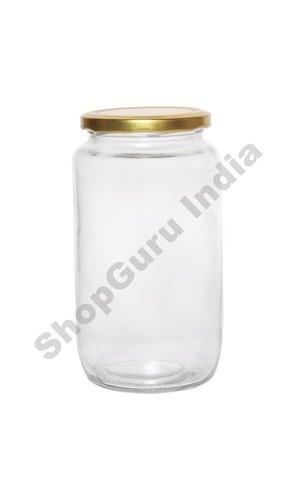 1000 Ml Amrutham / Koena Round Jar