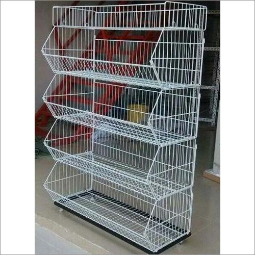 Stackable Wire Basket Rack