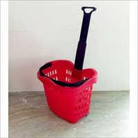 Plastic Shopping Trolley Basket