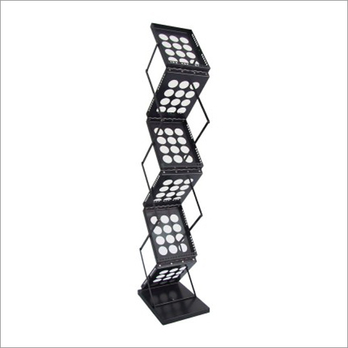 Stainless Steel Magazine Stand