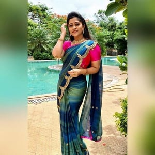 Pure Chiffon Silk Saree