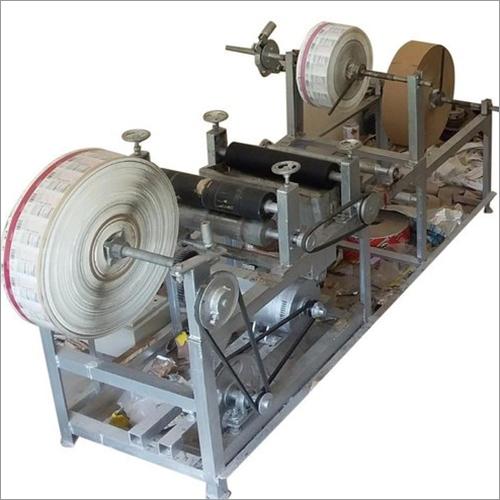 Silver Paper Rewinding Machine