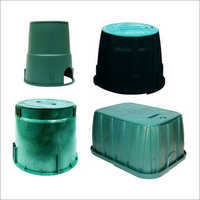 Heavy Duty HDPE Polyplastic Earth Pit Cover