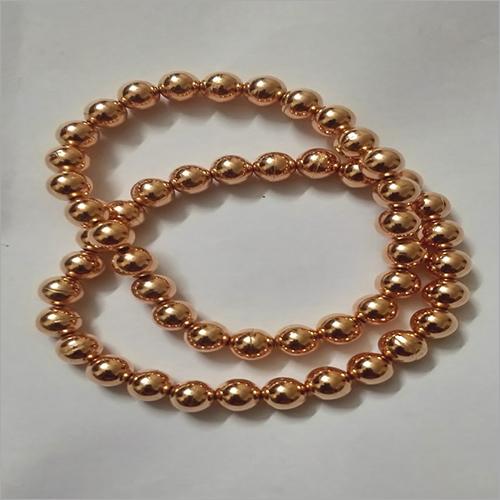 Trendy Pure Copper Round Bracelet