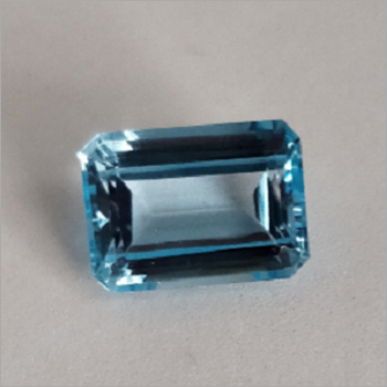 High quality Loose Faceted Sky Blue Topaz for ring
