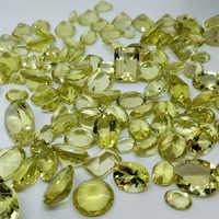 Lemon Quartz Multi shape Stone
