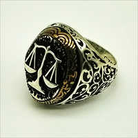 Trendy 925 Sterling Silver Turkish Ring