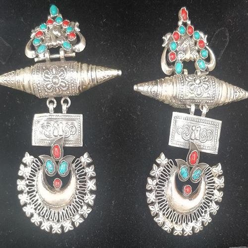 Trendy 925 Sterling Silver Heavy Earrings