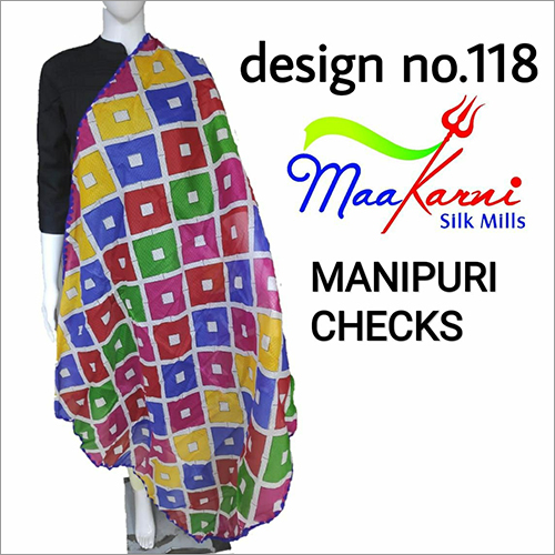 Ladies Manipuri Cheaks Dupatta