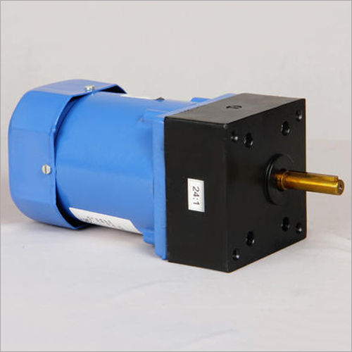 60W Three Phase AC Helical Inline Geared Motor